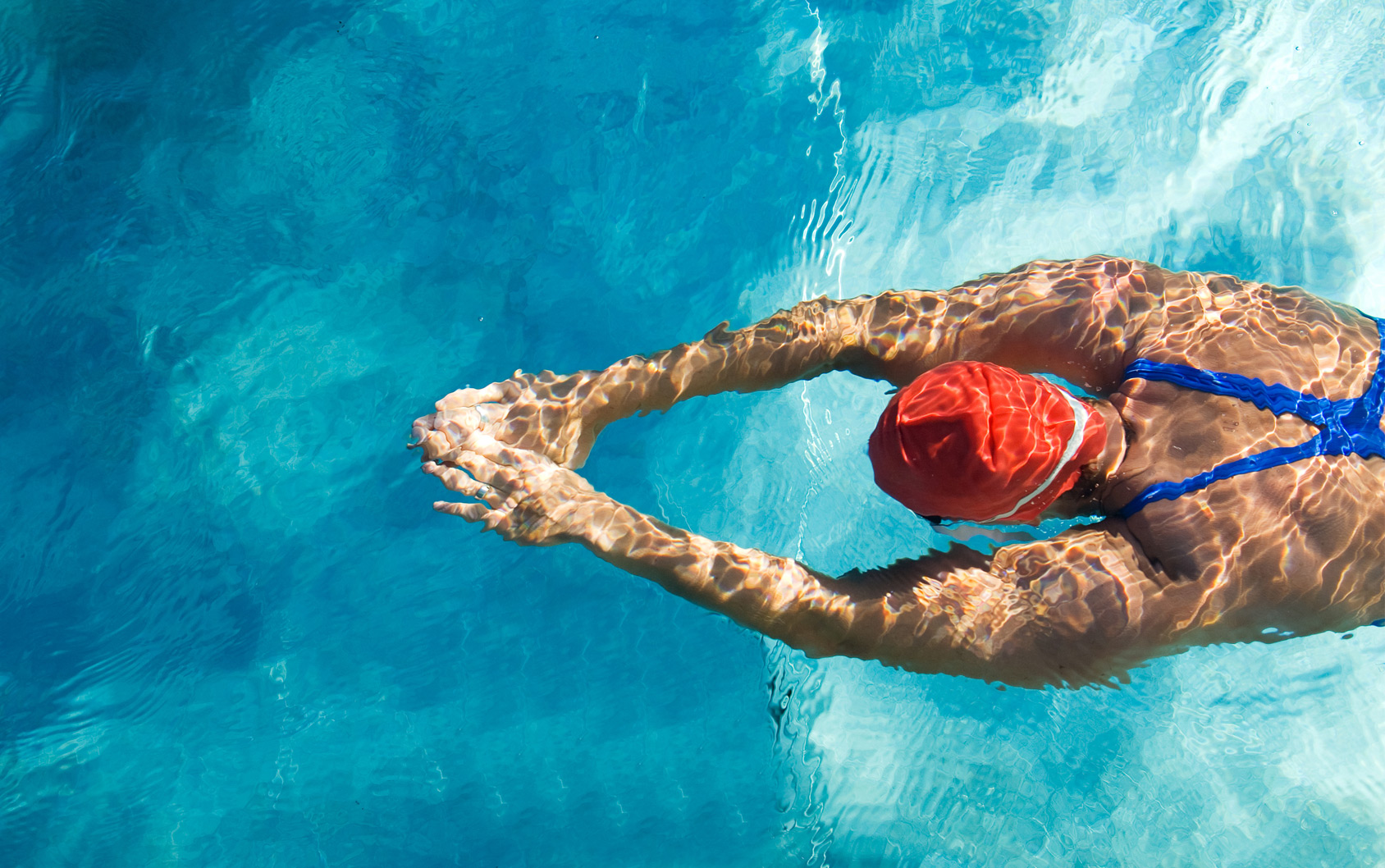 swimming without pain