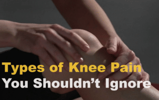 knee pain you shouldn't ignore