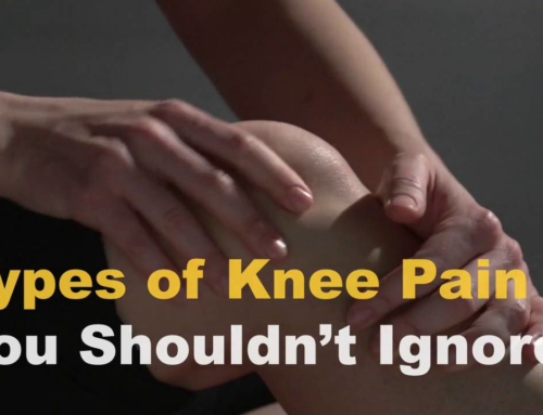 Knee Pain? Don't Ignore These Symptoms