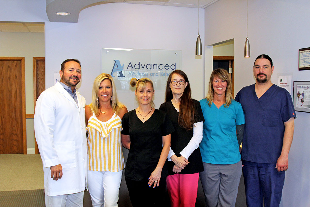 advanced wellness and rehab staff